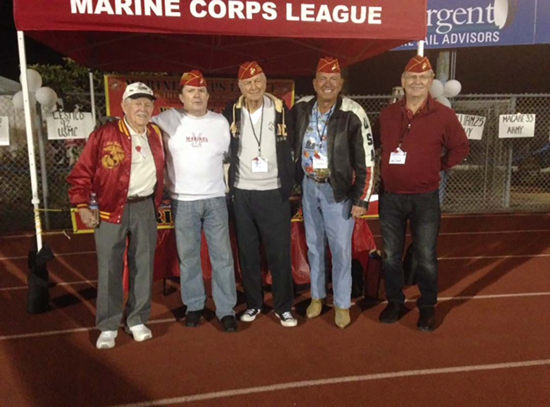 Det. Member Bob Harhay-DHHS Honor The Valor Football Game-11/15