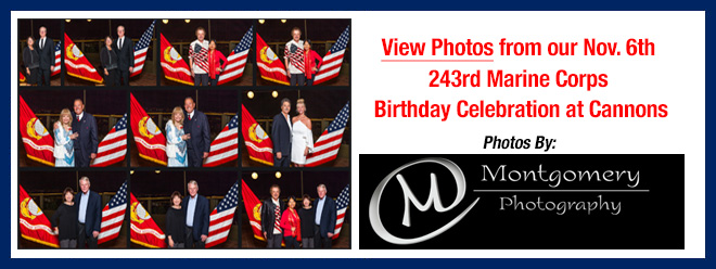 Photos of Cannons-Marine Corps League 243rd Marine Corps Birthday Celebration at Cannons by Mark Montgomery