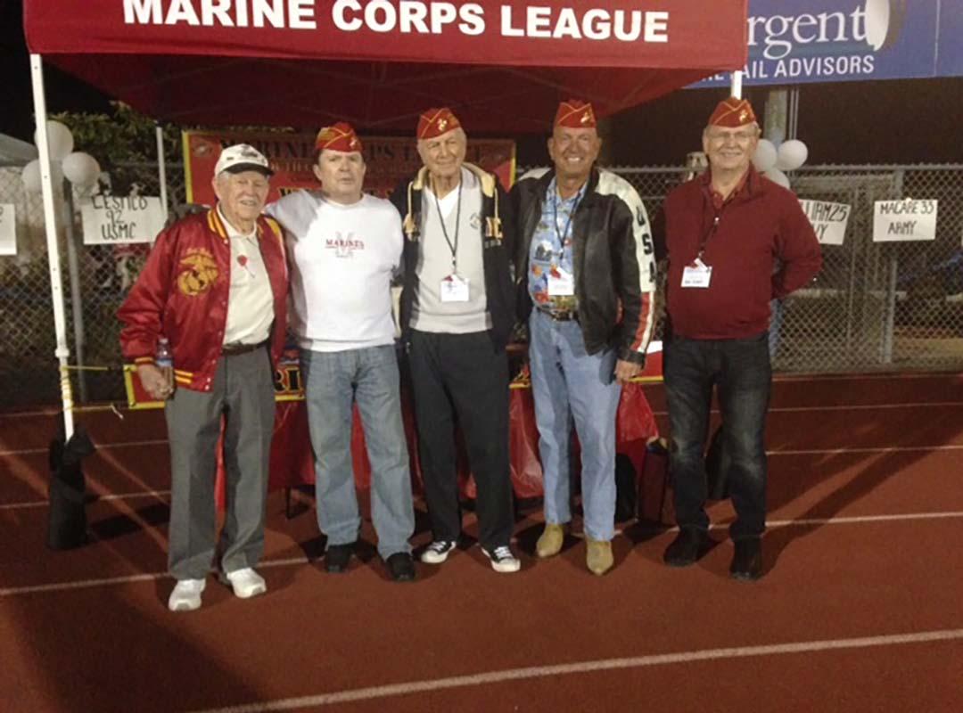 Det. Member Bob Harhay-DHHS Honor The Valor Football Game-11/15